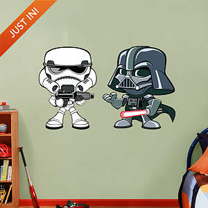 Darth Vader & Storm Trooper POP! Fathead Wall Decal