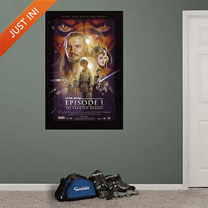 Star Wars Episode I: The Phantom Menace Movie Poster Mural Fathead Wall Decal