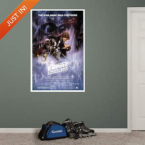 Star Wars Epsode V: The Empire Strikes Back Movie Poster Mural Fathead Wall Decal