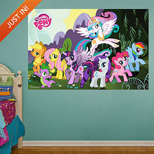 My Little Pony Mural Fathead Wall Decal