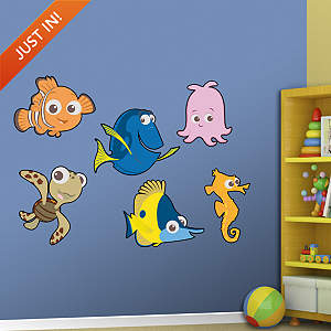 Finding Nemo Kids Collection Fathead Wall Decal