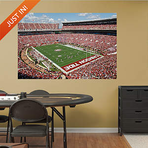 Alabama Crimson Tide Bryant-Denny Stadium Mural Fathead Wall Decal
