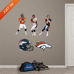 Peyton Manning Hero Pack Fathead Wall Decal
