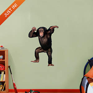 Chimpanzee Fathead Wall Decal