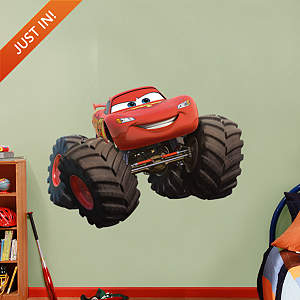 Lightning McQueen - Monster Truck Fathead Wall Decal