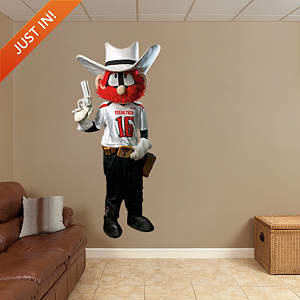 Texas Tech Mascot - Raider Red Fathead Wall Decal