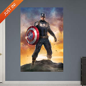 Captain America: The Winter Soldier - Movie Poster Mural Fathead Wall Decal