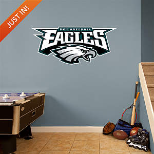 Philadelphia Eagles Alternate Logo Fathead Wall Decal