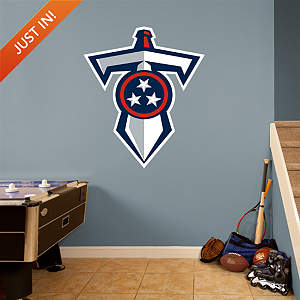Tennessee Titans Sword Logo Fathead Wall Decal