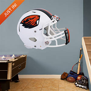 Oregon State Beavers White Helmet Fathead Wall Decal