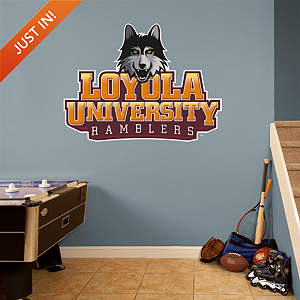 Loyola Chicago Ramblers Logo Fathead Wall Decal