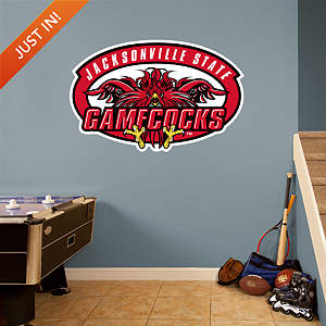 Jacksonville State Gamecocks Logo Fathead Wall Decal