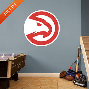 Atlanta Hawks Alternate Logo Fathead Wall Decal