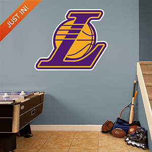 Los Angeles Lakers Alternate Logo Fathead Wall Decal