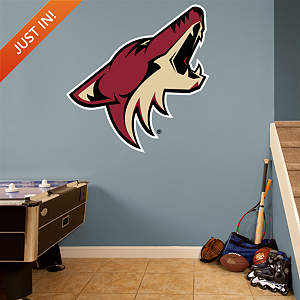 Arizona Coyotes Logo Fathead Wall Decal