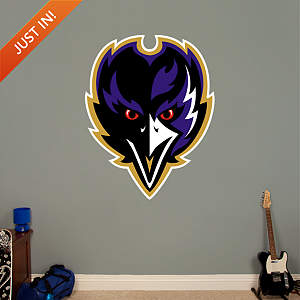 Baltimore Ravens Alternate Logo Fathead Wall Decal