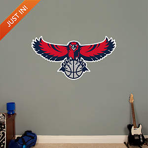 Atlanta Hawks Logo Fathead Wall Decal