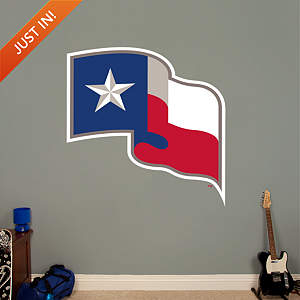 Texas Rangers Flag Logo Fathead Wall Decal