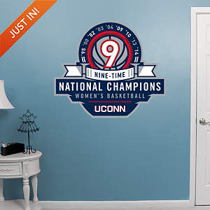 UConn Huskies Women's Basketball Legacy Logo Fathead Wall Decal