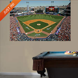 Inside Shea Stadium Mural Fathead Wall Decal