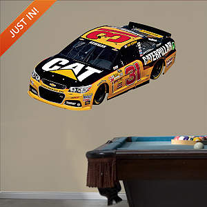 Ryan Newman #31 Caterpillar Car Fathead Wall Decal