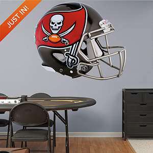 Tampa Bay Buccaneers Helmet Fathead Wall Decal