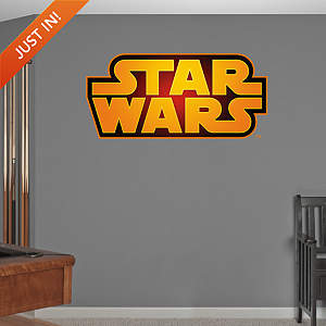 Star Wars Logo Fathead Wall Decal