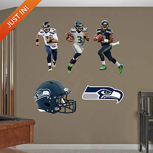 Russell Wilson Hero Pack Fathead Wall Decal