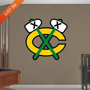 Chicago Blackhawks Alternate Logo Fathead Wall Decal