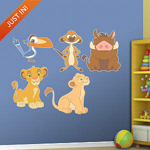 Lion King Kids Collection Fathead Wall Decal