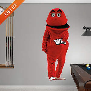 Western Kentucky Mascot - Big Red Fathead Wall Decal