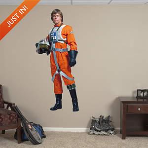 Luke Skywalker - Rebel Pilot Fathead Wall Decal
