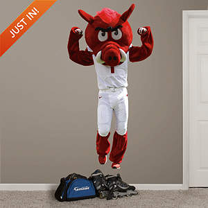 Arkansas Mascot - Big Red Fathead Wall Decal