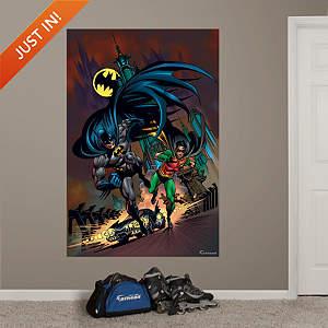 Batman and Robin Mural Fathead Wall Decal