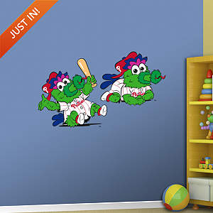 Philadelphia Phillies Baby Mascot Fathead Wall Decal