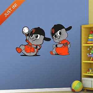 San Francisco Giants Baby Mascot Fathead Wall Decal
