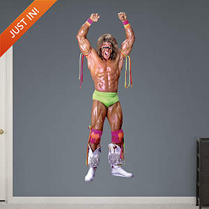Ultimate Warrior Fathead Wall Decal