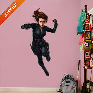 Black Widow - Captain America: The Winter Soldier Fathead Wall Decal