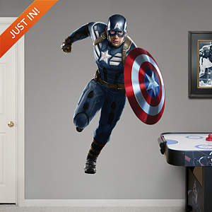 Captain America: The Winter Soldier Fathead Wall Decal