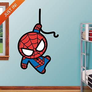 Kawaii Spider-Man Fathead Wall Decal