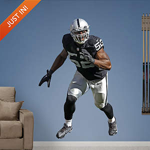 Khalil Mack Fathead Wall Decal