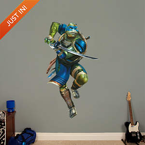 Leonardo - TMNT Movie Fathead Wall Decal