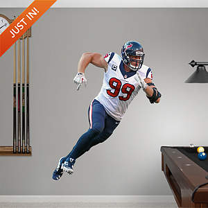 JJ Watt - Defensive End Fathead Wall Decal