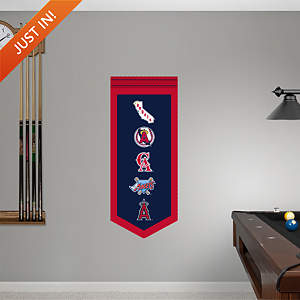 Angels Logo Evolution Banner Fathead Wall Decal