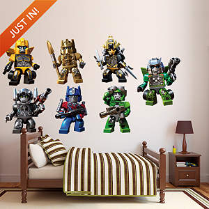 Transformers KRE-O Collection  Fathead Wall Decal