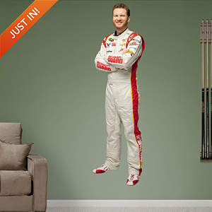Dale Earnhardt Jr. National Guard Driver Fathead Wall Decal