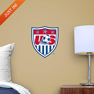 US Soccer Teammate Crest Fathead Decal