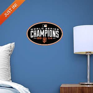 San Francisco Giants 2014 World Series Champions Teammate Logo Fathead Decal