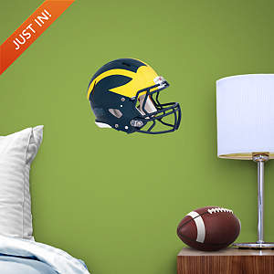 Michigan Wolverines Teammate Helmet Fathead Decal
