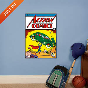 Action Comics #1 Cover Fathead Wall Decal